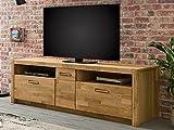 ADHW Fernsehschrank Holz TV-Lowboard Element Fernsehtisch Unterschrank Rack Schrank