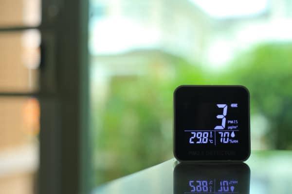 Messgerät für Luftqualität