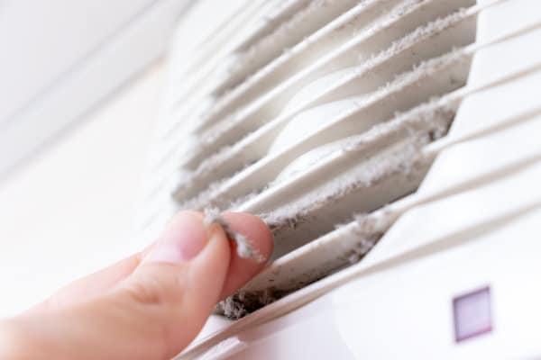 Ventilator reinigen