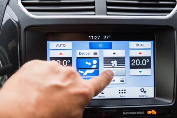 Klimaanlage Defrost Funktion